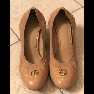 Tory Burch wedges! Great with almost any outfit